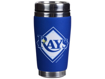 Tampa Bay Rays 16oz Stainless Steel Travel Tumbler
