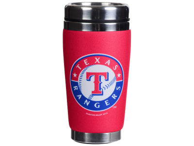 Texas Rangers 16oz Stainless Steel Travel Tumbler