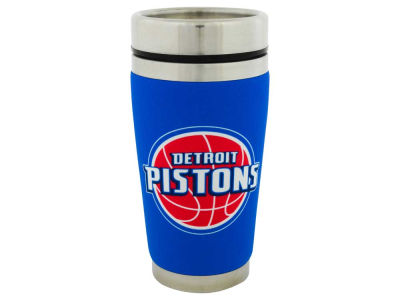 Detroit Pistons 16oz Stainless Steel Travel Tumbler