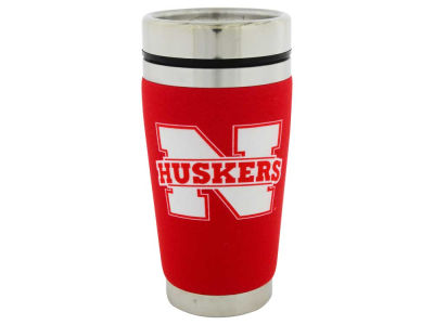Nebraska Cornhuskers 16oz Stainless Steel Travel Tumbler