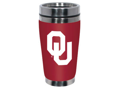 Oklahoma Sooners 16oz Stainless Steel Travel Tumbler