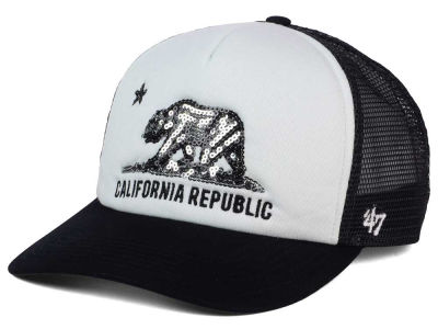 California Women's Glimmer Trucker Cap