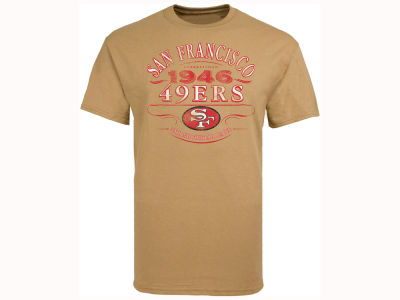 San Francisco 49ers NFL Men's CN Emblematic Vintage T-Shirt