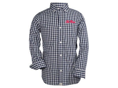 Ole Miss Rebels NCAA Toddler Logan Long Sleeve Button Down Shirt