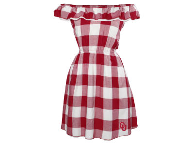 Oklahoma Sooners NCAA Women's Crestone Gingham Dress