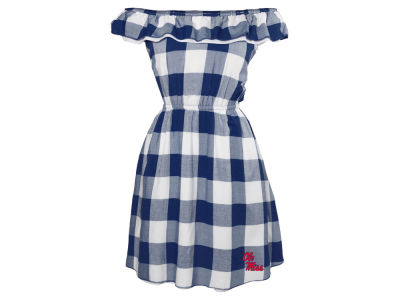 Ole Miss Rebels NCAA Women's Crestone Gingham Dress