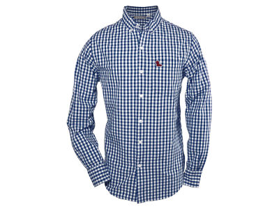 Ole Miss Rebels NCAA Men's Wilson Gingham Long Sleeve Button Down Shirt