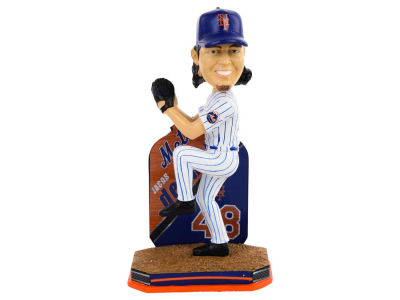 New York Mets Jacob deGrom Name & Number Bobblehead