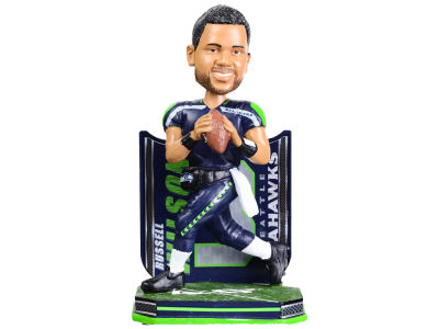 Seattle Seahawks Russell Wilson Name & Number Bobblehead