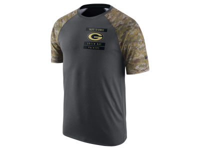 Green Bay Packers Nike NFL Men's 2016 Salute to Service T-Shirt