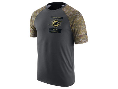 Miami Dolphins Nike NFL Men's 2016 Salute to Service T-Shirt