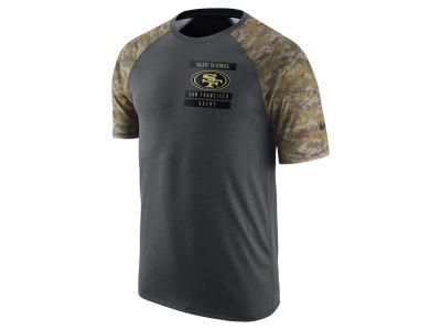 San Francisco 49ers Nike NFL Men's 2016 Salute to Service T-Shirt