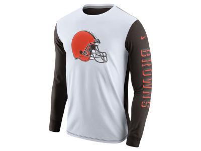 Cleveland Browns Nike NFL Champ Drive 2.0 Long Sleeve T-Shirt