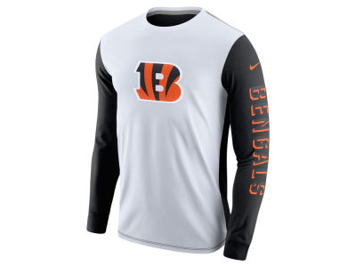 Cincinnati Bengals Nike NFL Champ Drive 2.0 Long Sleeve T-Shirt