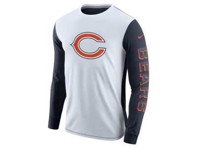 Chicago Bears Nike NFL Champ Drive 2.0 Long Sleeve T-Shirt