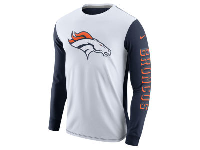 Denver Broncos Nike NFL Champ Drive 2.0 Long Sleeve T-Shirt