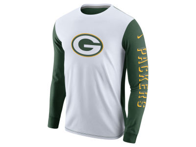 Green Bay Packers Nike NFL Champ Drive 2.0 Long Sleeve T-Shirt