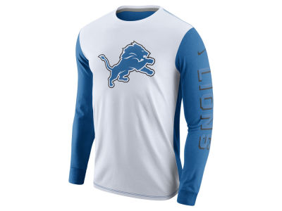Detroit Lions Nike NFL Champ Drive 2.0 Long Sleeve T-Shirt