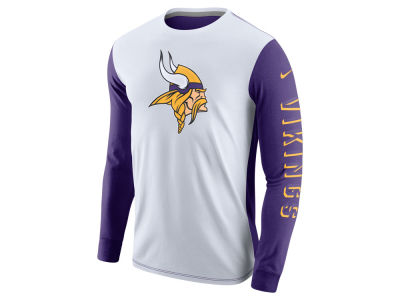 Minnesota Vikings Nike NFL Champ Drive 2.0 Long Sleeve T-Shirt