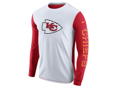 Kansas City Chiefs Nike NFL Champ Drive 2.0 Long Sleeve T-Shirt