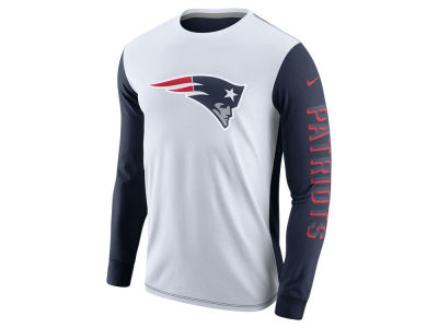 New England Patriots Nike NFL Champ Drive 2.0 Long Sleeve T-Shirt