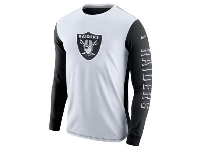 Oakland Raiders Nike NFL Champ Drive 2.0 Long Sleeve T-Shirt