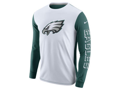 Philadelphia Eagles Nike NFL Champ Drive 2.0 Long Sleeve T-Shirt