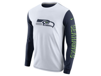 Seattle Seahawks Nike NFL Champ Drive 2.0 Long Sleeve T-Shirt