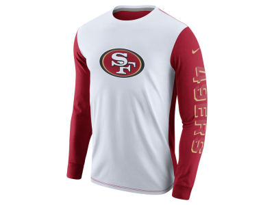 San Francisco 49ers Nike NFL Champ Drive 2.0 Long Sleeve T-Shirt