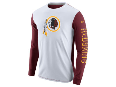 Washington Redskins Nike NFL Champ Drive 2.0 Long Sleeve T-Shirt