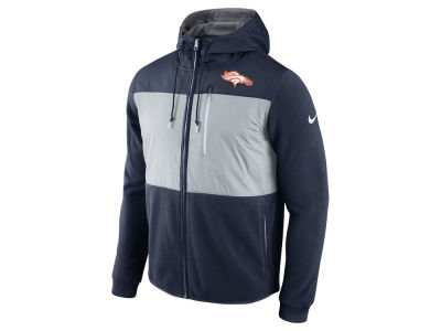 Denver Broncos Nike NFL Men's Champ Drive Full Zip Hoodie