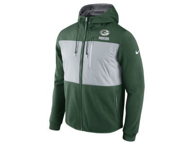 Green Bay Packers Nike NFL Men's Champ Drive Full Zip Hoodie