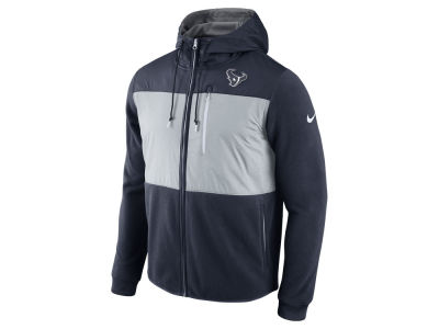 Houston Texans Nike NFL Men's Champ Drive Full Zip Hoodie