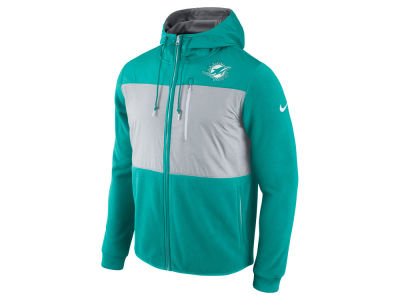 Miami Dolphins Nike NFL Men's Champ Drive Full Zip Hoodie