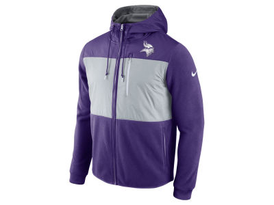 Minnesota Vikings Nike NFL Men's Champ Drive Full Zip Hoodie