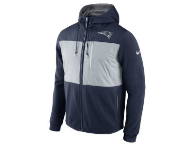 New England Patriots Nike NFL Men's Champ Drive Full Zip Hoodie