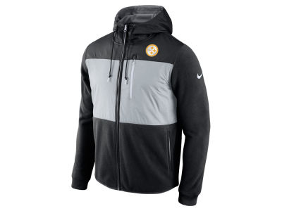 Pittsburgh Steelers Nike NFL Men's Champ Drive Full Zip Hoodie