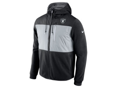 Oakland Raiders Nike NFL Men's Champ Drive Full Zip Hoodie