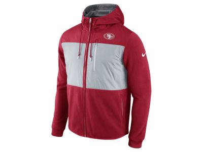 San Francisco 49ers Nike NFL Men's Champ Drive Full Zip Hoodie