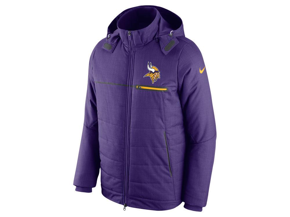 bdb9e9a00 Minnesota Vikings Nike NFL Men s Sideline Jacket