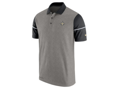 New Orleans Saints Nike NFL Men's Sideline Polo Shirt