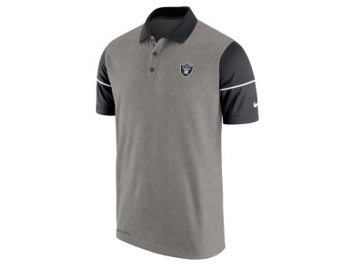 Oakland Raiders Nike NFL Men's Sideline Polo Shirt