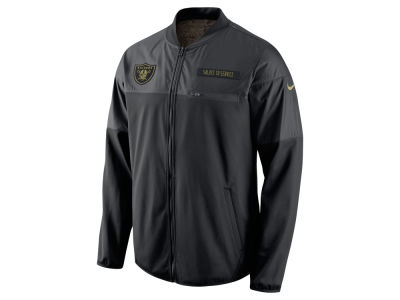 Oakland Raiders Nike NFL Men's Salute to Service Hybrid Jacket