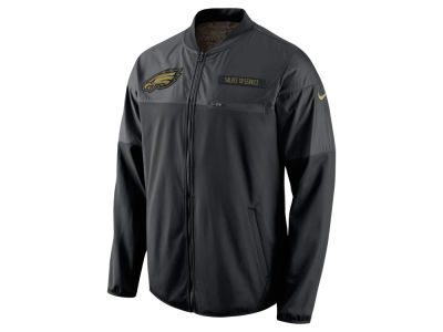 Philadelphia Eagles Nike NFL Men's Salute to Service Hybrid Jacket
