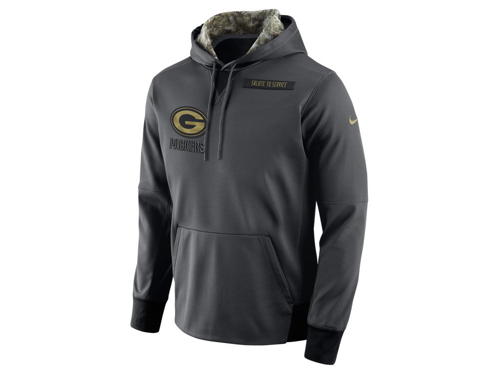 Green Bay Packers Nike NFL Men s 2016 Salute to Service Hoodie ... 75e2cafb5