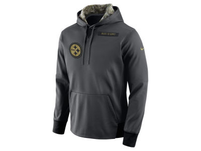 Pittsburgh Steelers Nike NFL Men's 2016 Salute to Service Hoodie
