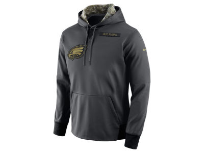 Philadelphia Eagles Nike NFL Men's 2016 Salute to Service Hoodie