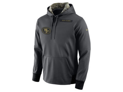 San Francisco 49ers Nike NFL Men's 2016 Salute to Service Hoodie