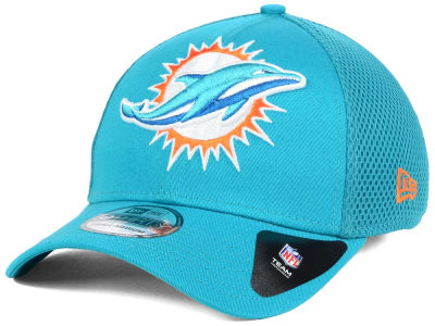 Miami Dolphins New Era NFL Mega Team Neo 39THIRTY Cap