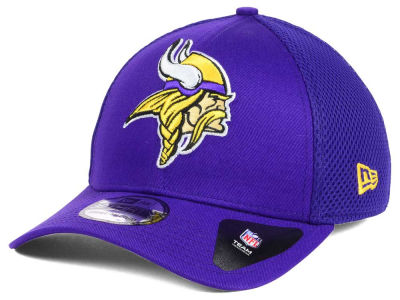 Minnesota Vikings New Era NFL Mega Team Neo 39THIRTY Cap